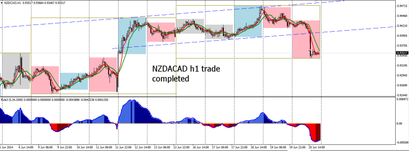 week25 NZDCAD h1 leontey trade completed 210614