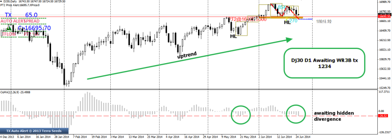 week26 D1 Dj30 awaiting hidden divergence 250614