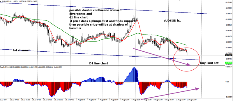 week33 AUDSGD h1 mean reversion confluence 120814