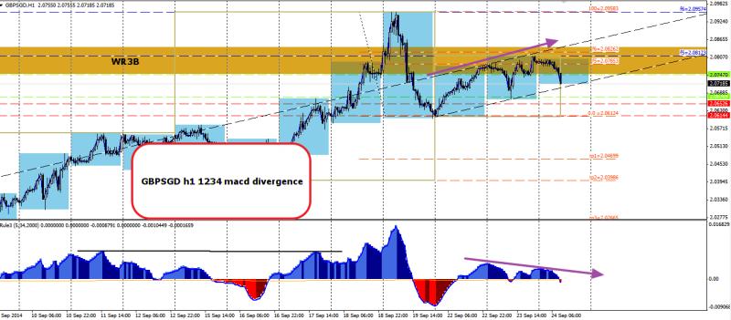 week39 GBPSGD h1 1234 macd divergence 240914